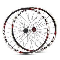 Paar PASAK 700C Rad Laufradsatz Fahrradrad 20 Vorderrad 24 Hinterrad Aluminiumfelge 30mm