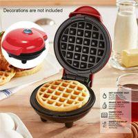 Mini Waff-eleisen Maschine Antihaft Backform Küche Elektrischer Nut Maker Pan
