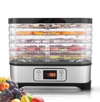 Dörrgerät Maschine Lebensmittel Fleisch Gemüse Obst Trockner Dörrgerät mit Temperaturregler