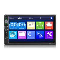 7-Zoll-Doppel-DIN-Autoradio-Empfaenger 2 Din-Autoradio Autoradio BT MP5-Player mit Touchscreen