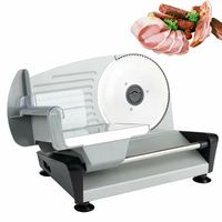 Elektrischer Allesschneider Brotschneidemaschine Aufschnittmaschine Edelstahl Gastro Profi