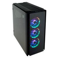 Corsair Obsidian 500D RGB SE Premium - Midi-Tower - PC - Glas - Stahl - Schwarz - ATX,Micro ATX,Mini-ITX - Gaming