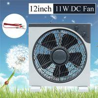 DC12V 12'' 11W Tischventilator Standventilator 3-Gang Lüfter Ventilator Fan Time