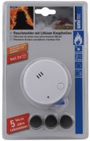 uniTEC Rauchmelder Mini weiß Alarmsignal: ca. 85 dB