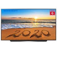 LG OLED55CX - 139,7 cm (55 Zoll) - 3840 x 2160 Pixel - OLED - Smart-TV - WLAN - Schwarz - Silber