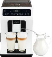 Krups Evidence EA8901 Freistehende vollautomatische Espressomaschine 2,3L 2Tassen White - Kaffeemaschine (Freistehend, Espressomaschine, 2,3 L, Integriertes Mahlwerk, 1450 W, Weiß)