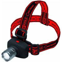 KS Tools LED Stirnlampe mit Fokus CREE Power 100 Lumen 550.1238