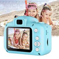 LOZAYI Mini-Kinderkamera, hochauflösende Digitalkamera 32G blaue Kinderkamera, Kindergeburtstagsgeschenk