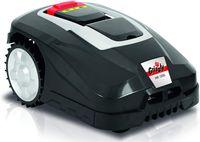 Grizzly Tools Mähroboter MR 1000 Blackline, bis 1000 m² Rasenfläche, Regensensor, Diebstahlschutz, Bluetooth App Steuerung, inklusive Begrenzungskabel und Haken, 72047805
