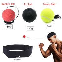 Boxen Training Ball Reflex Fightball Speed Fitness Punch Boxing Ball Kampf 3 Ball