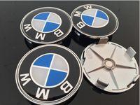 Felgendeckel  4 Stück 68mm Ersatzteil Nabendeckel Radnabenkappen für BMW