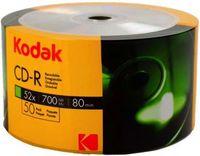 50 Kodak Rohlinge CD-R 80Min 700MB 52x Shrink