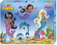 "Hama Bügelperlen midi ""Meerjungfrauen"" Geschenkpackung 4.000 Bügelperlen"