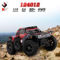 WLtoys 124012 1/12 4WD 2,4G RC Rennwagen Hohe Geschwindigkeit 60 km / h RC Offroad Auto Geschenk fš¹r Jungen