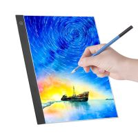 Aibecy A3 LED Light Panel-Grafiktablett Light Pad Digitales Tablet-Copyboard mit 3-stufiger dimmbarer Helligkeit für Diamond Painting