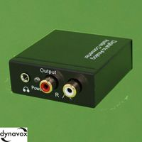 Digital/Analog Audio-Konverter DYNAVOX