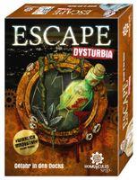 ESCAPE Dysturbia: Gefahr in den Docks, Brettspiel (DE), für 1-8 Spieler, ab 12 Jahren
