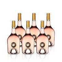 2019 Miraval Côtes de Provence Rosé Magnum (1,5L) (6 Fl.)
