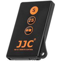 JJC RM-S1 IR-Fernbedienung mit Video-Auslöser kompatibel ersetzt RMT-DSLR2 RMT-DSLR1 , kompatibel mit SLT a99 a77 a65 a57 a55 a33 NEX-7 NEX-6 NEX-5 NEX-5N NEX-5R
