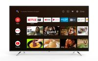 JVC LT-65VA6955 164 cm / 65 Zoll Fernseher (Android TV inkl. Prime Video / Netflix / YouTube, 4K UHD mit Dolby Vision HDR / HDR 10 + HLG, Bluetooth, Triple-Tuner)