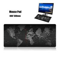 Mauspad Schreibtischunterlage Extra grosses, weiches, erweitertes, rutschfestes Mousepad für PC-Laptops
