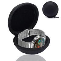 Smartwatch Fitnesstracker Armband Uhr Tasche Schutz Hülle Etui Box Case für Sony SmartBand Talk SWR30