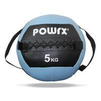 Gewichtsball inkl. Griff Band   Medizinball Wall Ball 1 - 8 kg versch. Farben Gewicht: 5 kg