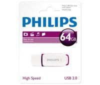 Philips Snow Edition - 64 GB USB Stick - USB 2.0 kompatibel (Typ-Nr. FM64FD70B/10)
