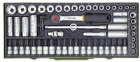 Proxxon   Super-Kompaktsatz 3/8 Zoll (65-tlg.) (23112)