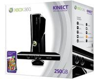 XBOX360 Grundgerät Slim-matt (250 GB) + Kinect