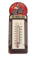 Gartenthermometer Bikers Only Außenthermometer Innenthermometer Thermometer