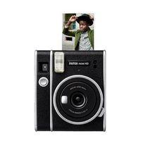 Fujifilm Instax Mini 40 Sofortbildkamera, Farbe:Schwarz