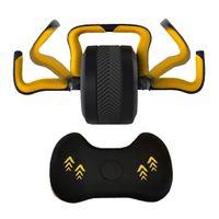 MIIGA Bauchroller Kugel-Hantel 5 kg Kettlebell 2 in 1 Krafttraining Bauchtraining Muskel-Aufbau Fitness Zuhause / Home Trainer sportlich ergonomisch belastbar 200 kg