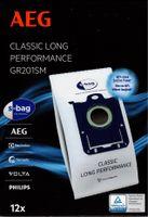 AEG Staubsaugerbeutel, Staubbeutel GR201M GR201 Megapack für UltraSilencer - 900166976