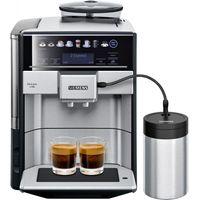 Siemens EQ.6 plus s700 - Espressomaschine - 1,7 l - Kaffeebohnen - Eingebautes Mahlwerk - 1500 W - Schwarz - Edelstahl