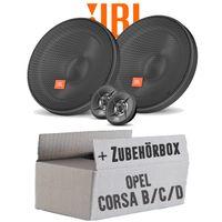 Lautsprecher Boxen JBL 16,5cm System Auto Einbausatz - Einbauset für Opel Corsa B/C/D - JUST SOUND best choice for caraudio