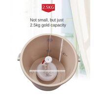 Mini waschmaschine tragbare rotierende ultraschall wirbel turbine wäsche 130x200cm Weiß Moern Unterlegscheibe