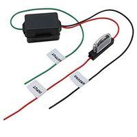 AIV Entstördrossel 12 / 24V Montage möglichst nahe am Verbraucher in der Plus-Leitung, beseitigt Bordnetzstörgeräusche, geeignet für Autoradios, Verstärker, CB-Funk, Mobil-Telefone. Nennstrom: 2A, max. Belastbarkeit: 3A / 2 Min., inkl. Kabel und Glassich