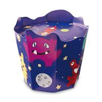 RBV BIRKMANN Cake Pops Station Monster 2er-Set bunt Pappe eckig