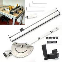 450mm Gehrungslehre Gehrung Messgerät DIY Holzbearbeitungswerkzeug für Tischsäge Säge Zubehör