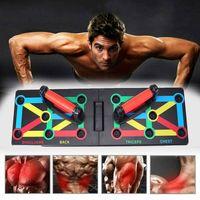 16in1 Multifunktionale Push-Up Board Push-Up-Ständer Training Liegestützgriffe Körperkraft Gym Fitness Body Training