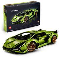 LEGO 42115 Technic Lamborghini Sián FKP 37 Rennwagen, erweitertes Bauset für Erwachsene, exklusives Sammlermodell