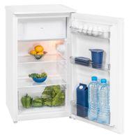 Exquisit Kühlschrank KS 117-4.2  | 80L(69/11)L Fassungsvermögen | Energieeffizenz++ | Weiß