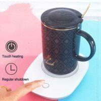 USB Heizmatte Untersetzer Heizung Tassenwärmer wasserdicht Milch Kaffeetasse Pad Heizplatte Untersetzer