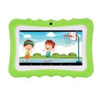 Kinder Tablet 7 Zoll Bildschirm Dual Kamera Android Quad-Core WiFi Version Fruehpaedagogische Lernmaschine Geschenk fuer Kleinkinder Kinder