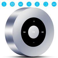 Tragbarer Bluetooth Lautsprecher,  Mini Klein Bluetooth Lautsprecher mit SD Kartenslot, 3,5 mm AUX-Eingang
