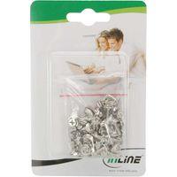 """InLine® Schraubenset, für 3,5"""" Festplatten, lange Ausführung 8mm, 50-teilig"""