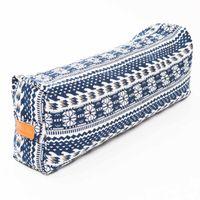 Yogabolster / Yogarolle gefüllt mit Buchweizenschale - ideal für Yoga & Meditationsübungen : eckiges Yoga Bolster »Paravati« Stlye (1)