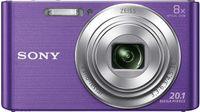 Sony Cyber-shot DSC-W830, 20,1 MP, 5152 x 3864 Pixel, CCD, 8x, HD, Violett