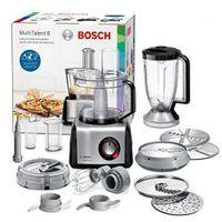 Bosch MC812M865 Küchenmaschine 3,9 l Schwarz, Edelstahl